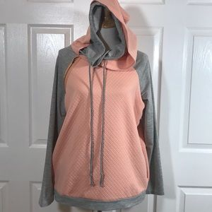 Boutique item - double hooded sweatshirt NWOT